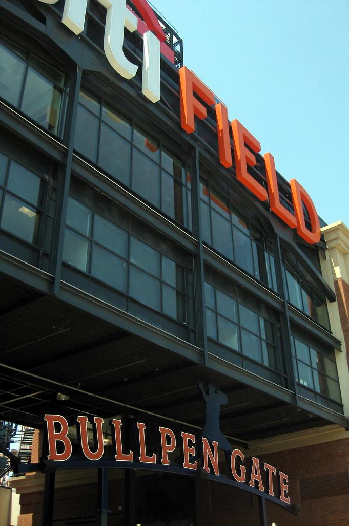 Field Bullpen Citi Field Bullpen Gate
