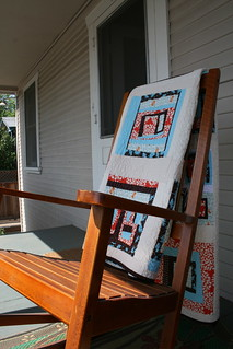 Block Party Quilt - Rocking Chair | by alissahcarlton
