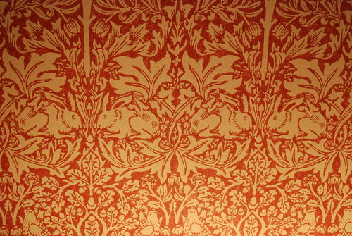Leigh House Details From Our Room William Morris Wallp