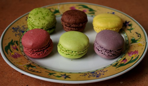 Six macarons | by marc kjerland