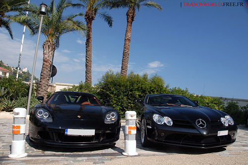 Carrera GT vs SLR | by Julien Rubicondo Photography