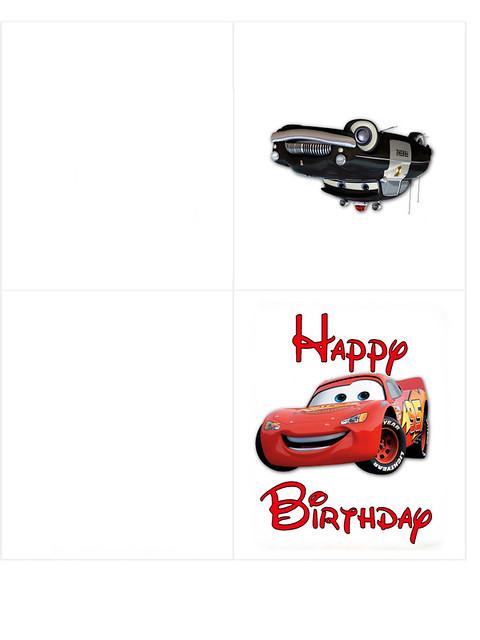Cars Happy Birthday Card Angela Riley Flickr