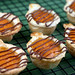 Drizzled Pumpkin Pies