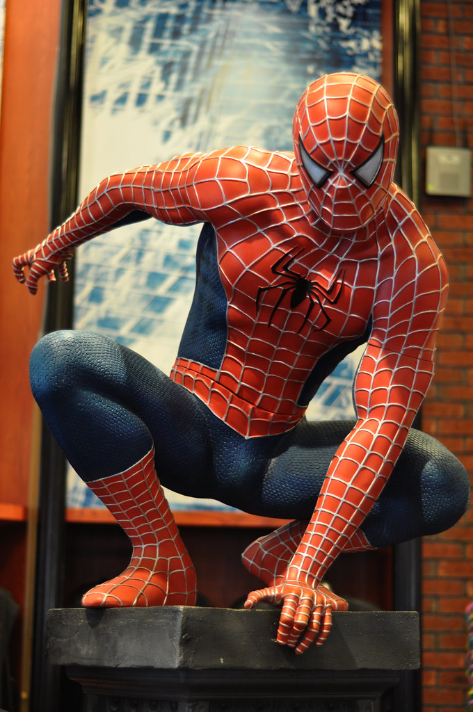 Spiderman Statue Reed Shipley Flickr