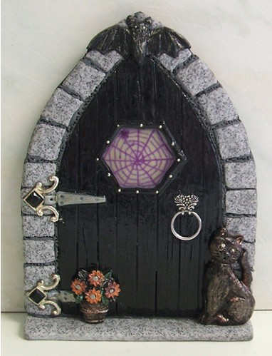 Scary fairy door it might not look all that scary but for White fairy door