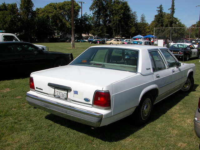 1991 Ford Crown Victoria Police Plain Wrapper  October 4 2  Flickr