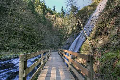 Bridge over Tanner Creek and Munra Falls - HDR | by David Gn Photography