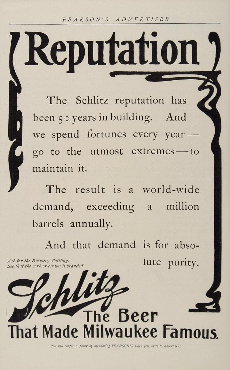 Schlitz-1905-reputation