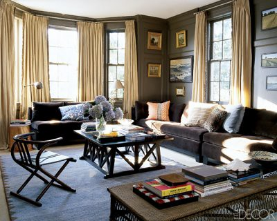 Sophisticated Brown Living Room Benjamin Moore 39 Char Brow Flickr