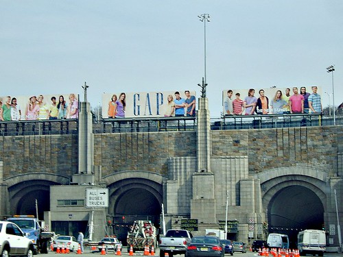 Lincoln Tunnel Entrance From New Jersey To New York Flickr