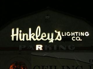 Phoenix AZ Hinkley 39 S Lighting Company Neon Sign Parking N Flickr