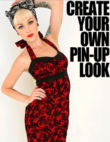 Hottopic Create Your Own Pin Up Look Stephanie Was The Mak Flickr