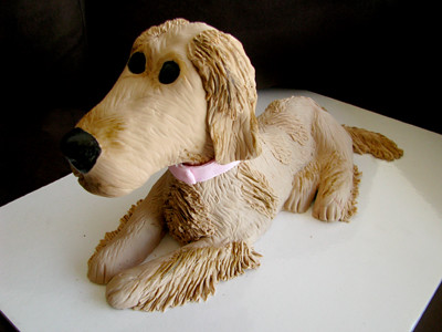 Golden Retriever Cake My First Dog Cake She Was Made