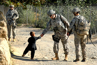 Handshakes in Afghanistan | by The U.S. Army