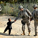 Handshakes in Afghanistan