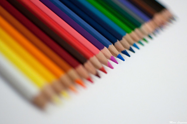 Crayons de couleurs / Pencils