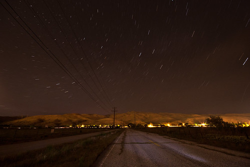 Stars On Old Eckert | by Idaho Photography