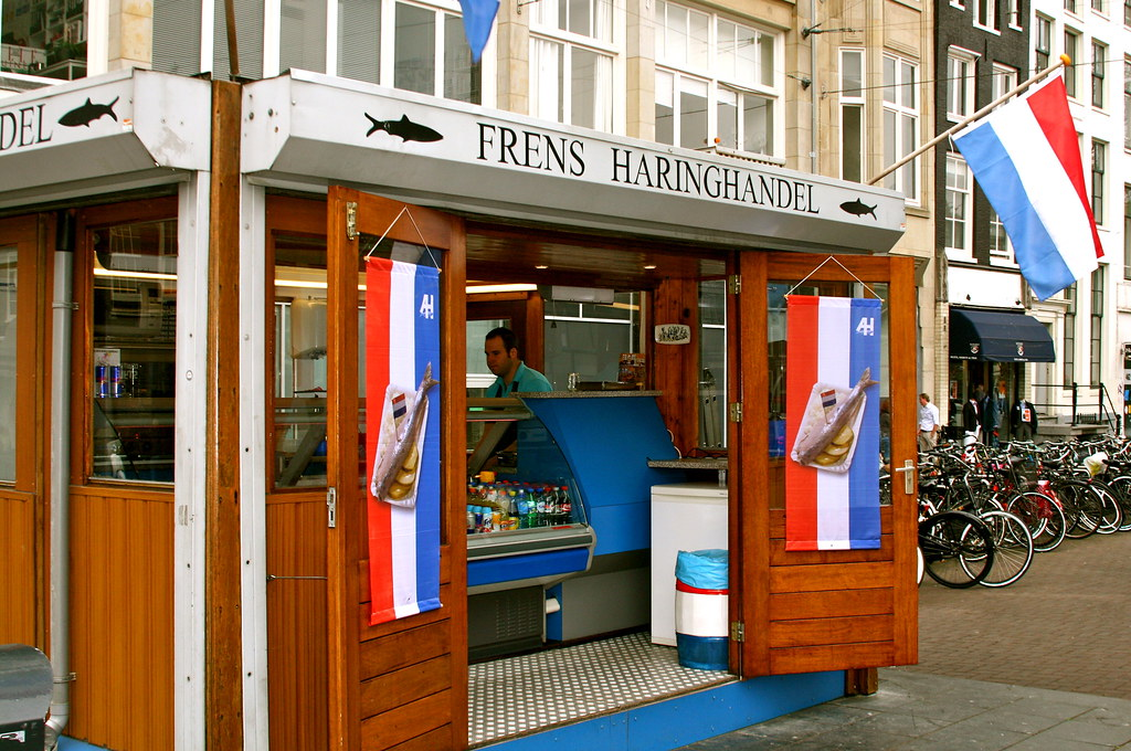 Herring Shop in Amsterdam