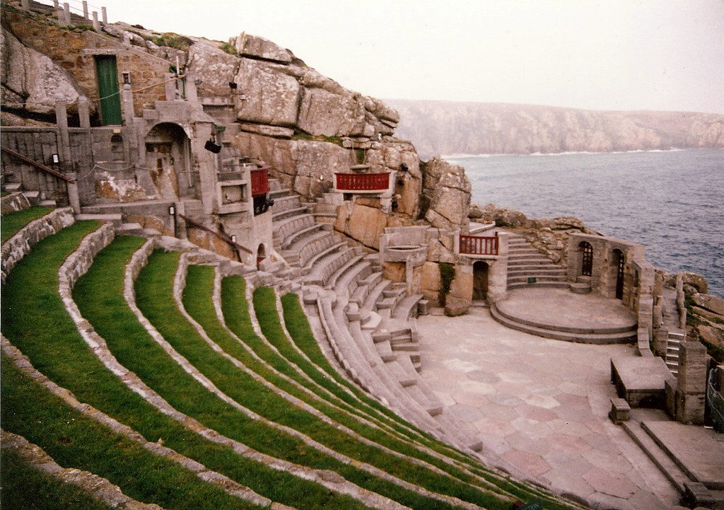 Minack Theatre History The Minack Theatre