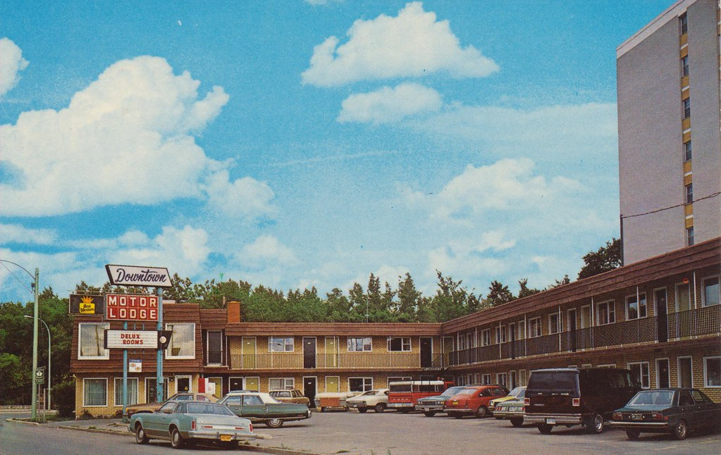 Downtown Motor Lodge - Moose Jaw, Saskatechewan