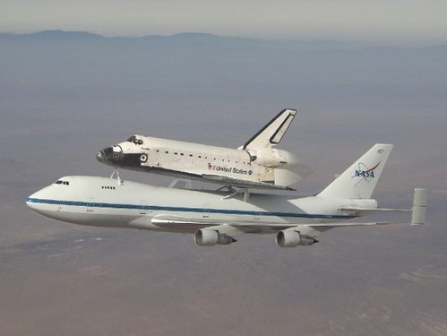 Shuttle Atlantis Takes Off From Dryden (6/1/09) | by NASA's Marshall Space Flight Center