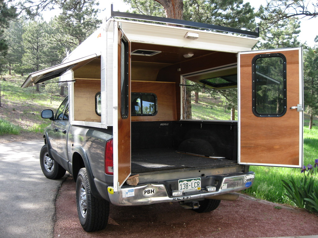 New Camper See Thru In Almost All Directions