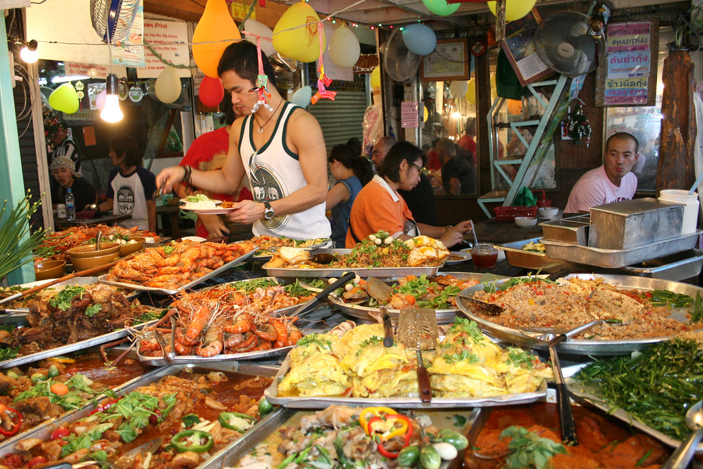 a banquet of street food but very little for a. Black Bedroom Furniture Sets. Home Design Ideas