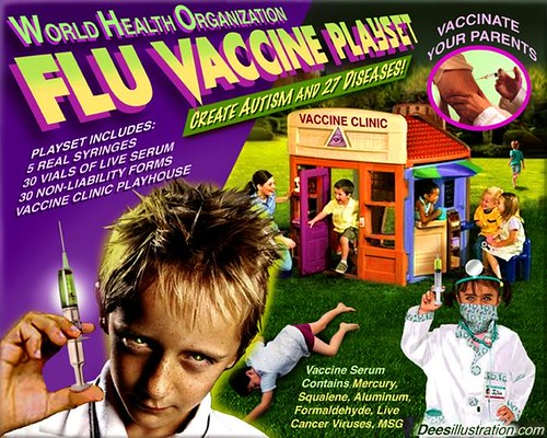 Image result for flu vaccine fraud Dees
