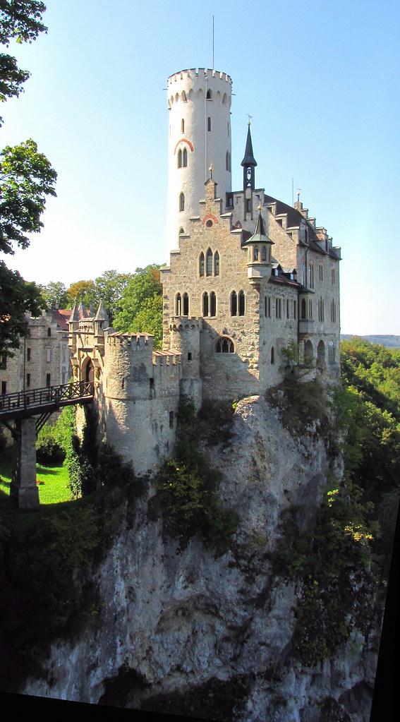 Romantische Burg Lichtenstein