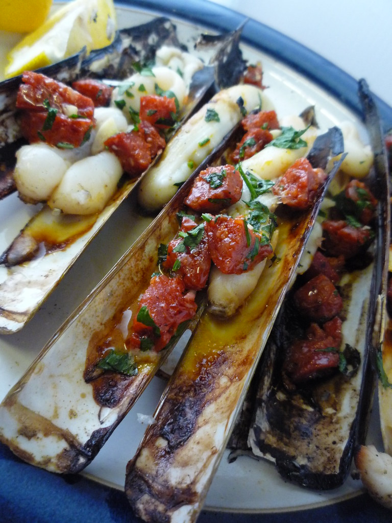 how to cook razor clams on bbq