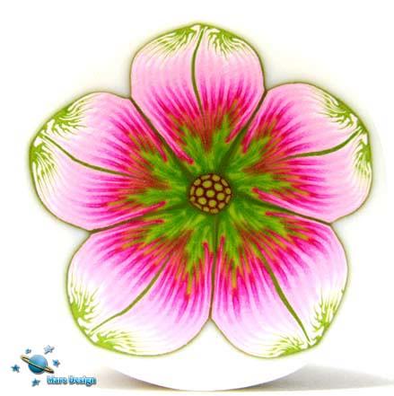 Pink green flower cane marcia mars design flickr pink green flower cane by marcia mars design mightylinksfo