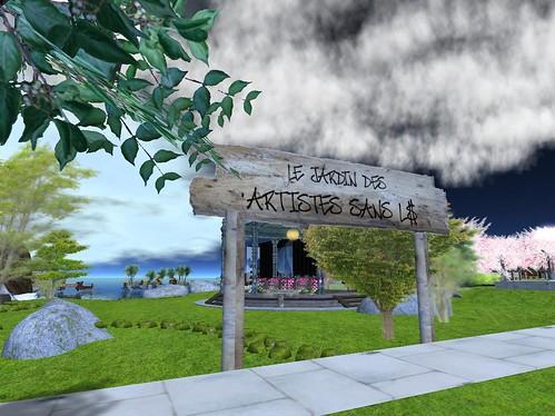 Le jardin des artistes sans l le nouveau jardin des for Artistes de jardin