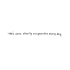 This room slowly evaporates every day | by Yoko Ono official