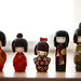 The Kokeshi family - and so they were five