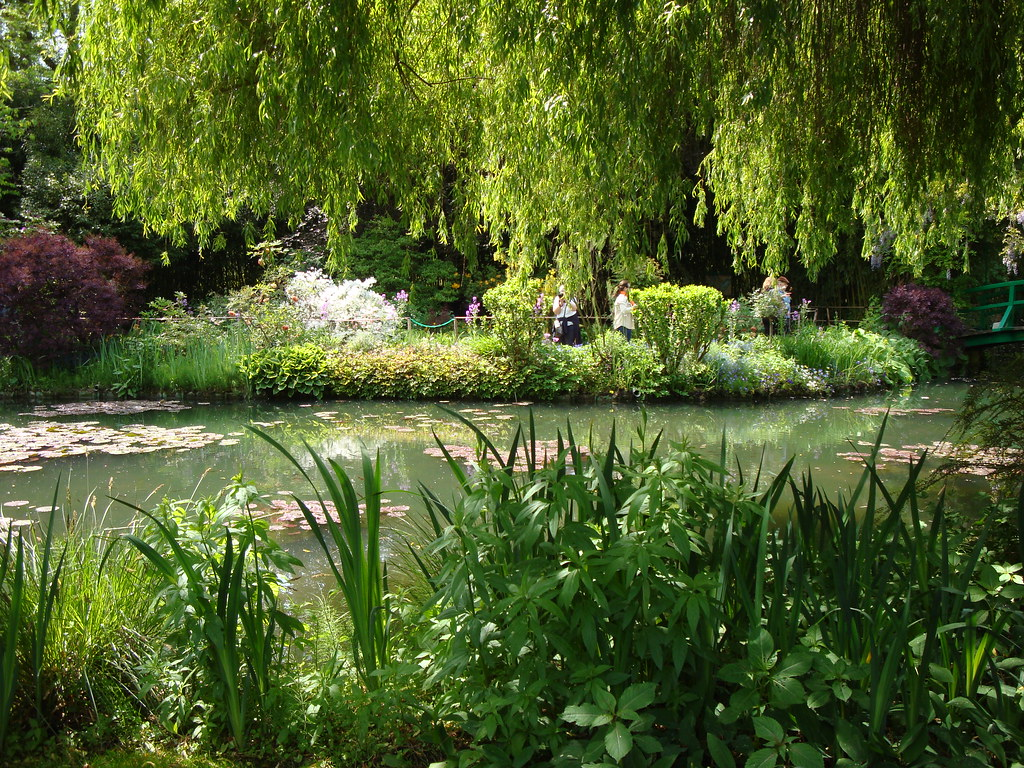 Giverny france le magnifique jardin de claude monet qui for Jardines monet