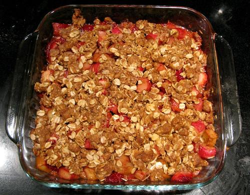 Strawberry Rhubarb Crisp America S Test Kitchen