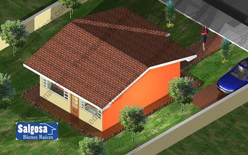 modelo de casa de campo 1 piso vista desde arriba ideas