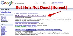 Jeff Goldblum Is NOT Dead | by search-engine-land