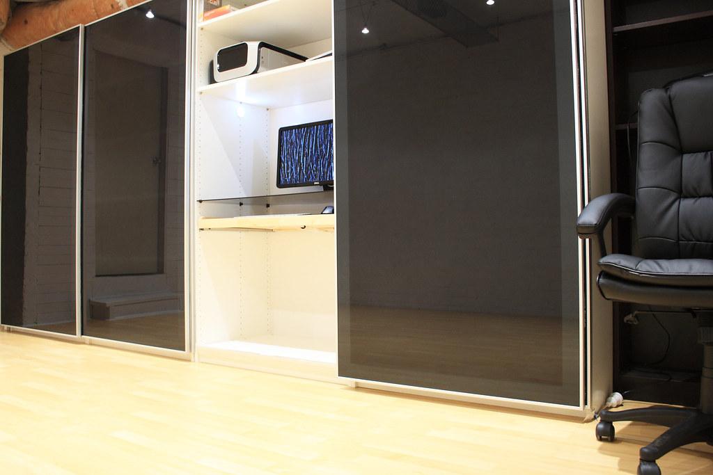 open office doors. Modren Open Basement Office  Doors Open  By AdamSelwood Intended