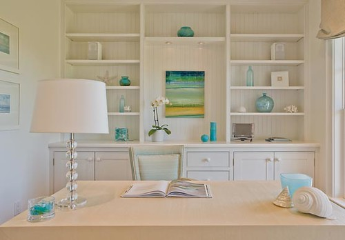 ... Built Shelves, Home Office | By Decorology