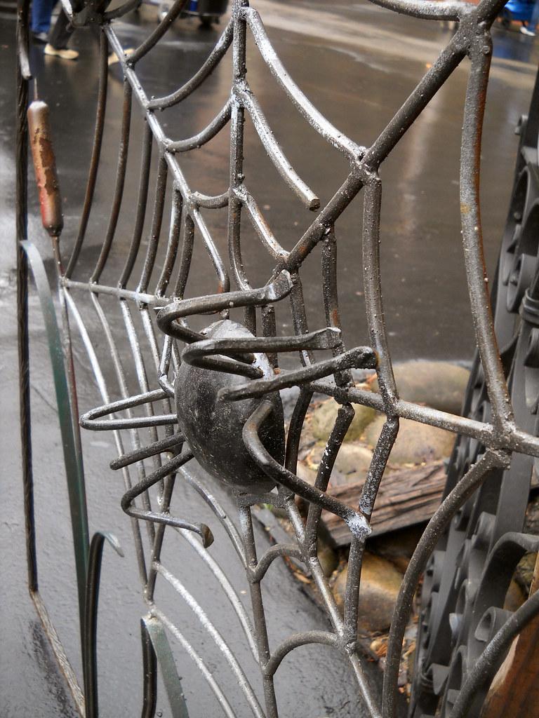 Spider Web Gate Carla Grzybowski Flickr