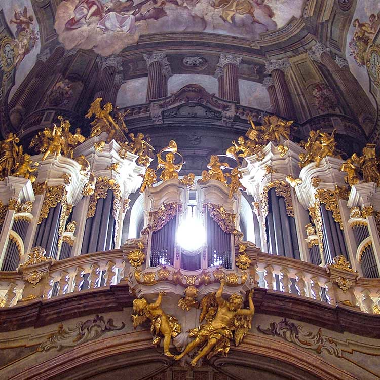 Rita crane photography prague baroque church st nich for Baroque style church