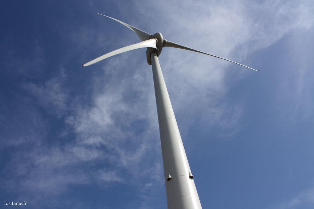 Imposante éolienne