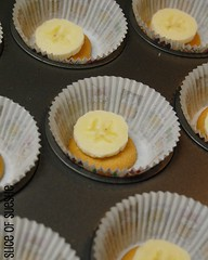 banana pudding/cream pie cupcakes | by susanyjohnson