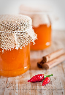 Marmellata di melone alla cannella e peperoncino-Melon jam with cinnamom and chili | by Azabel - Kitchen Bloody Kitchen