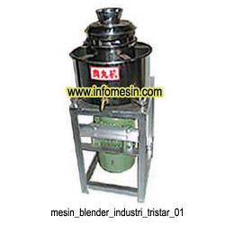 Mesin Pembuat Adonan Bakso - Blender Daging - Mesin Blender Industri No. 1 | by Tristar Machinery
