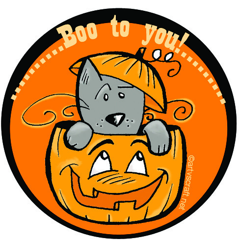 Free Halloween Candy Bag Sticker This Is A Freebie From