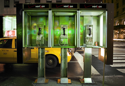 Telephones, NYC | by welshio
