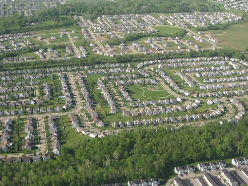 An American suburb | by futureatlas.com