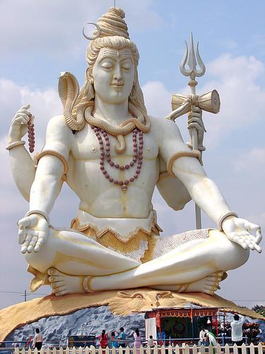 Shiva Statue, Bijapur,...